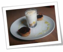 Tiramisu d'ananas/sorbet sur lit de spéculos et sa crème Mascarpone !(en verrines)