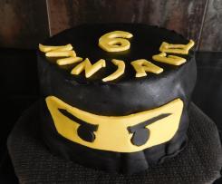 Gâteau d'anniversaire ninjago