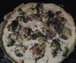 tarte brocolis petits légumes