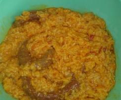merguez et son riz