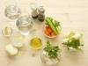 Bouillon et sa julienne de légumes