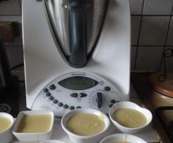 crème dessert aux cocons de Lyon