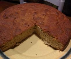 Gâteau de haricots aux amandes (sans gluten)