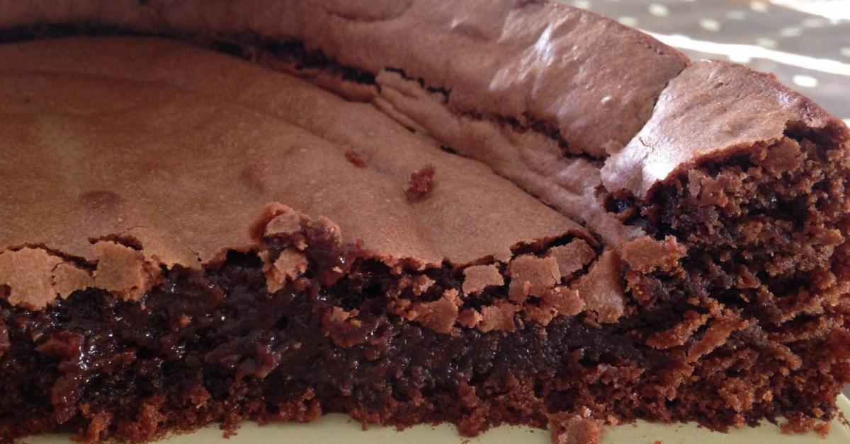 Gateau Au Chocolat Croquant Fondant Et Simple