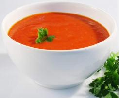 Soupe à la tomate express