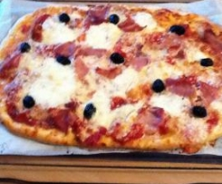 "Pizza ""un air d'Italie"""