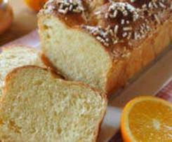 Brioche au jus d'orange