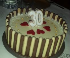 Bavarois carambar chocolat blanc
