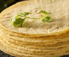 Tortillas de Maïs fajitas