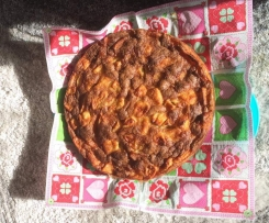Gâteau aux pommes sans gluten et sans lactose