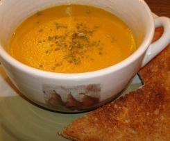 Soupe de légumes au curcuma