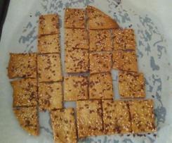 Crackers romarin et graines