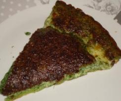 Quiche sans pâte épinards mozzarella