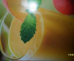 milk-shake aux nectarines