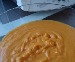 Velouté carottes-pommes de terre-choux blanc