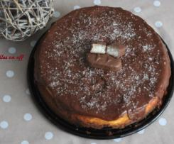 Cheesecake chocolat et noix de coco façon bounty