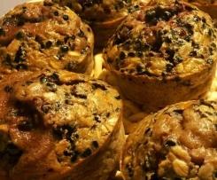 Muffins citron - sureau (et sa variante pour sportifs)