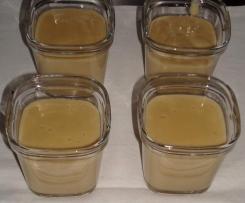 Crème dessert façon danette café
