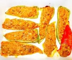 Poivron farci, recette Libanaise Mezzé