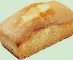 Cake aux jaunes d'oeufs