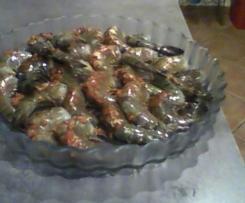 Variante Marinade pour crevettes à griller
