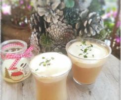 Cappuccino de châtaignes aux cèpes