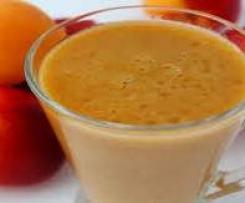 Smoothie frais mélange de fruits
