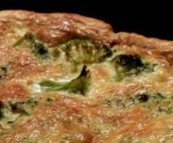 Tarte Brocolis & Roquefort