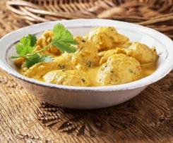Curry de poulet coco express