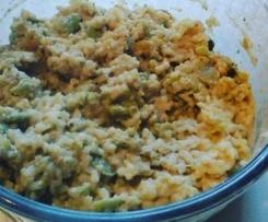 Risotto aux feves