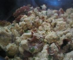 omelettes aux morilles
