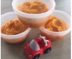 Panais, carottes, pommes de terre et jambon