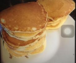 Pancakes légers.