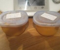 Compote potiron, banane, pomme DES 6 mois