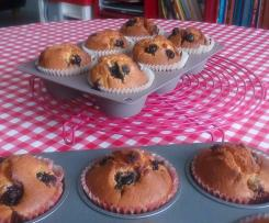 Blueberry Muffins (muffin à la myrtille)