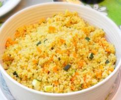 Semoule aux petit légumes
