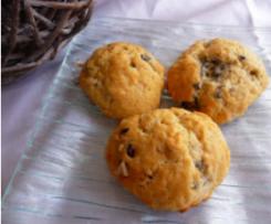 Cookies salés au bleu et aux noisettes