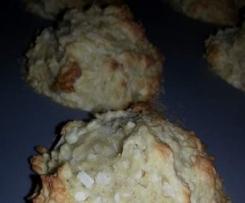 Mini cakes coco tofu (san oeufs)