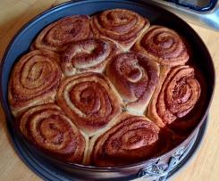 Roulés à la cannelle (Kanelbullar ou Cinnamon rolls)