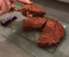 Brownie aux Snickers