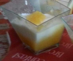 verrines lemon curd fromage blanc