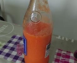 Jus de carottes, orange et citron