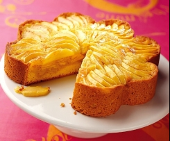 Gâteau pomme vanille régime Light