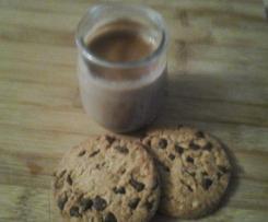 Crème saveur cookies