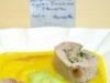 Ballottines de filet mignon farcies aux pleurotes sur purée de butternut et panais avec espuma de légumes verts