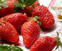 Confiture basilic fraise