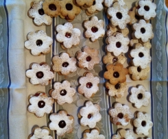 Marguerites ( gâteaux de noël à la confiture)