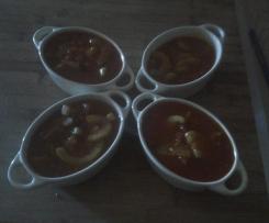 Méli-mélo de courgettes et tomates