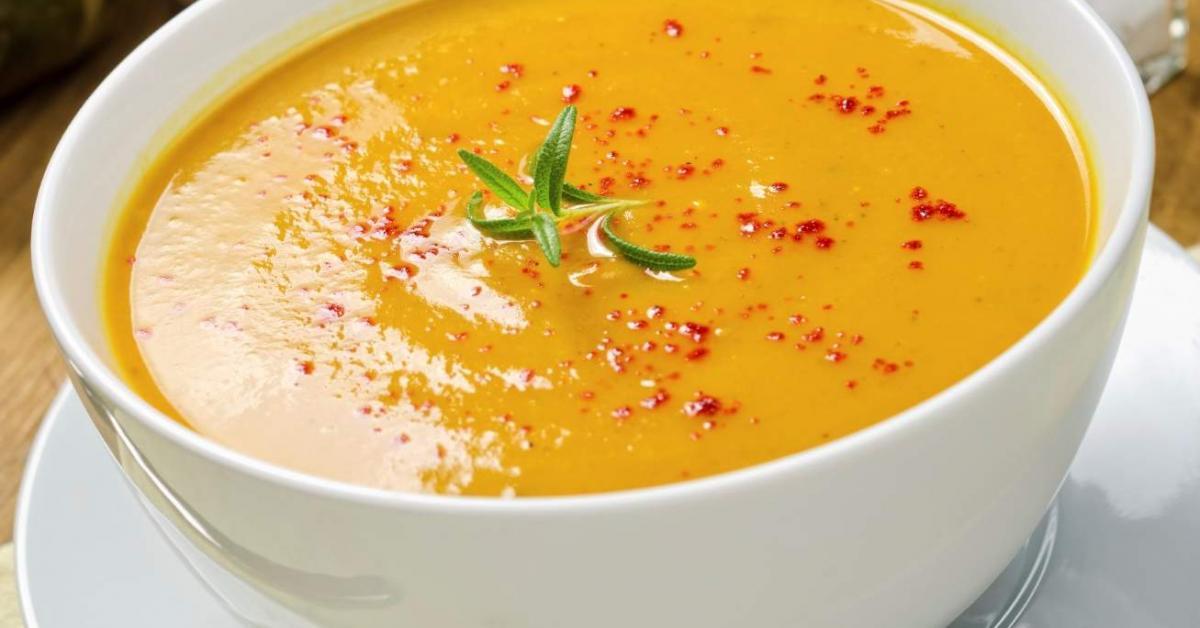 Velout potiron pomme de terre par yannix une recette de fan retrouver dans la cat gorie - Soupe de brocolis thermomix ...