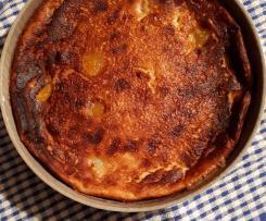 clafoutis aux abricots et au massala